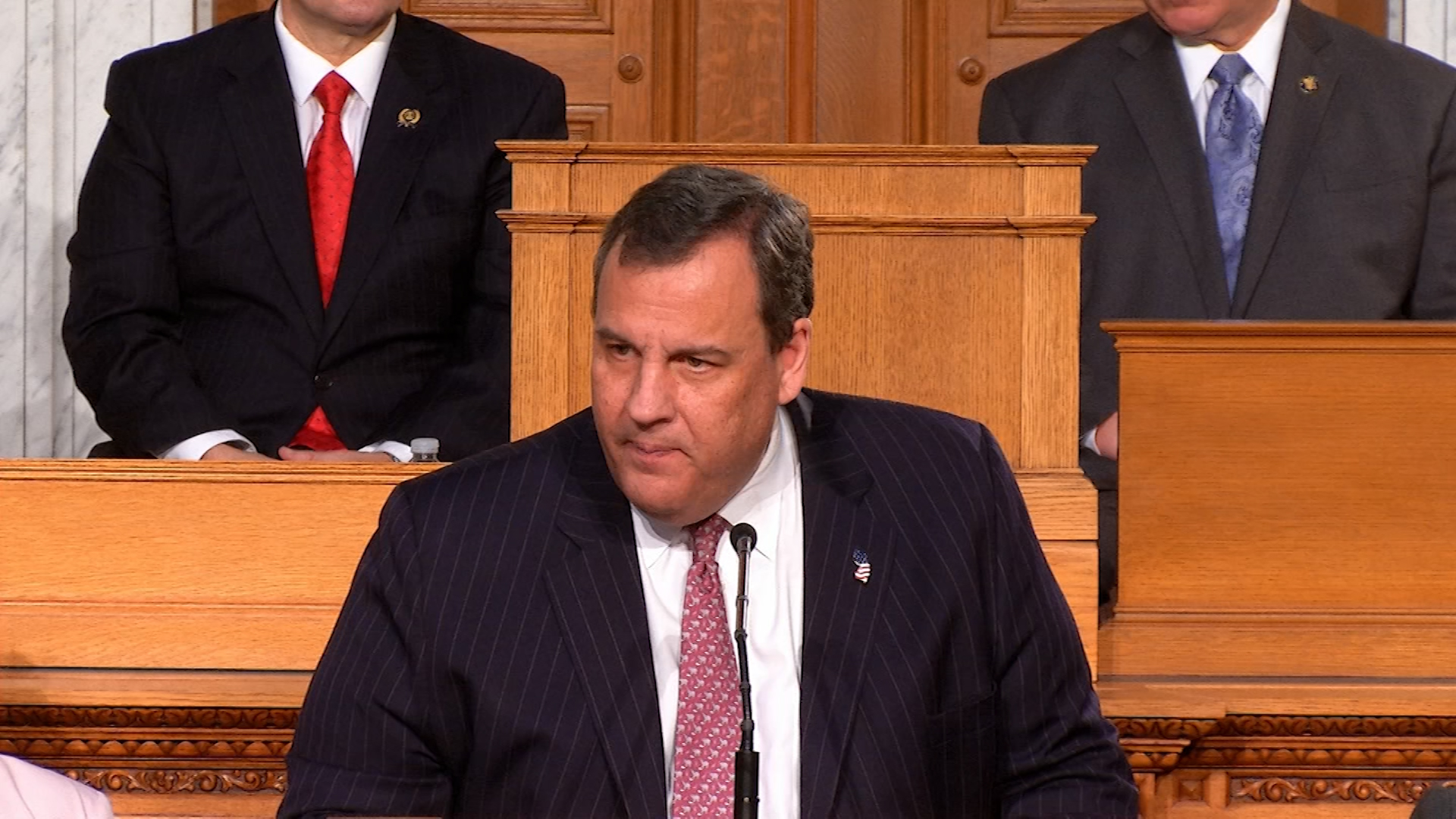 Gubernatorial Candidates React to Christie's State of the State Address