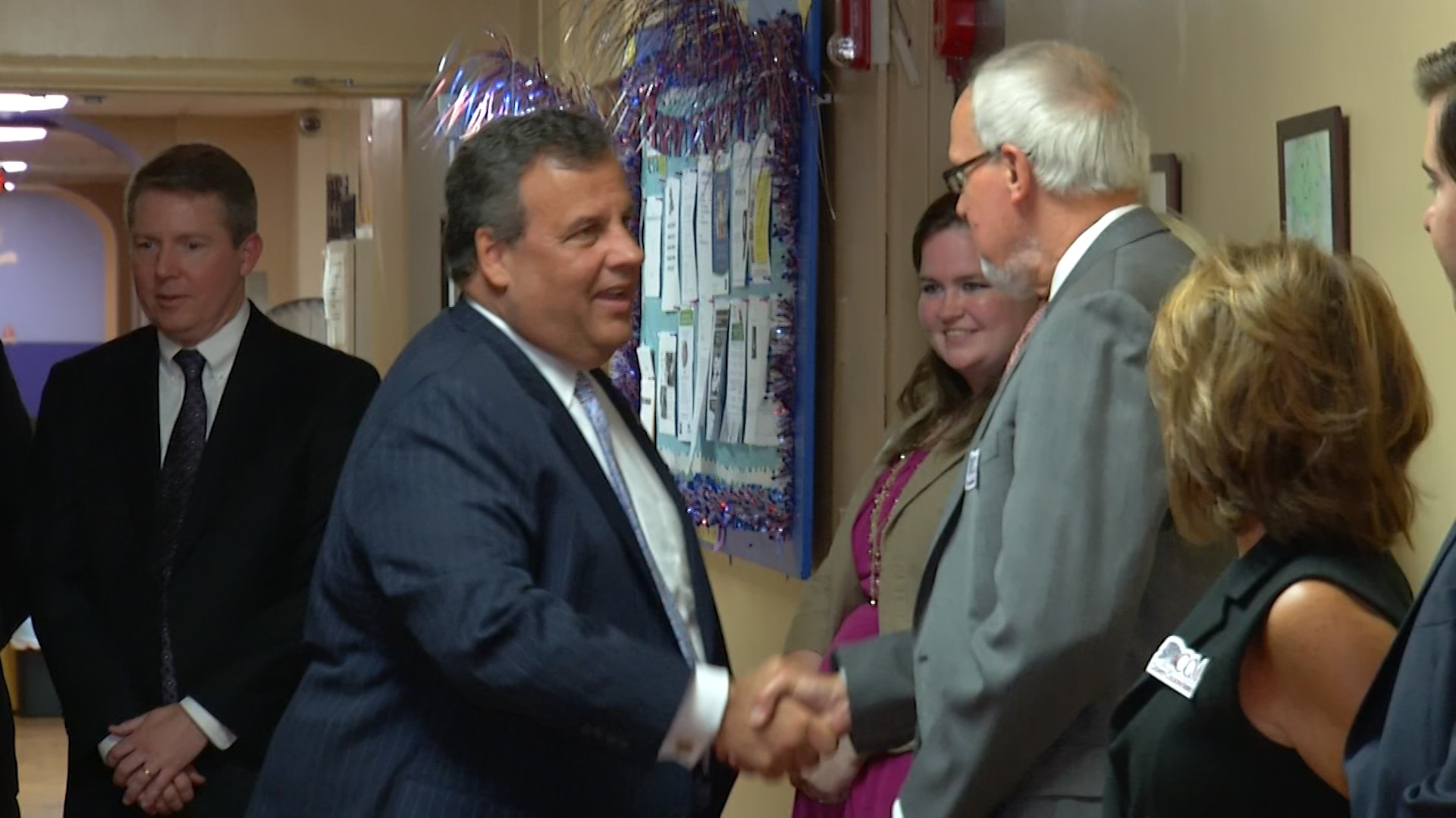 Christie visit to homeless shelter highlights new anti-opioid program