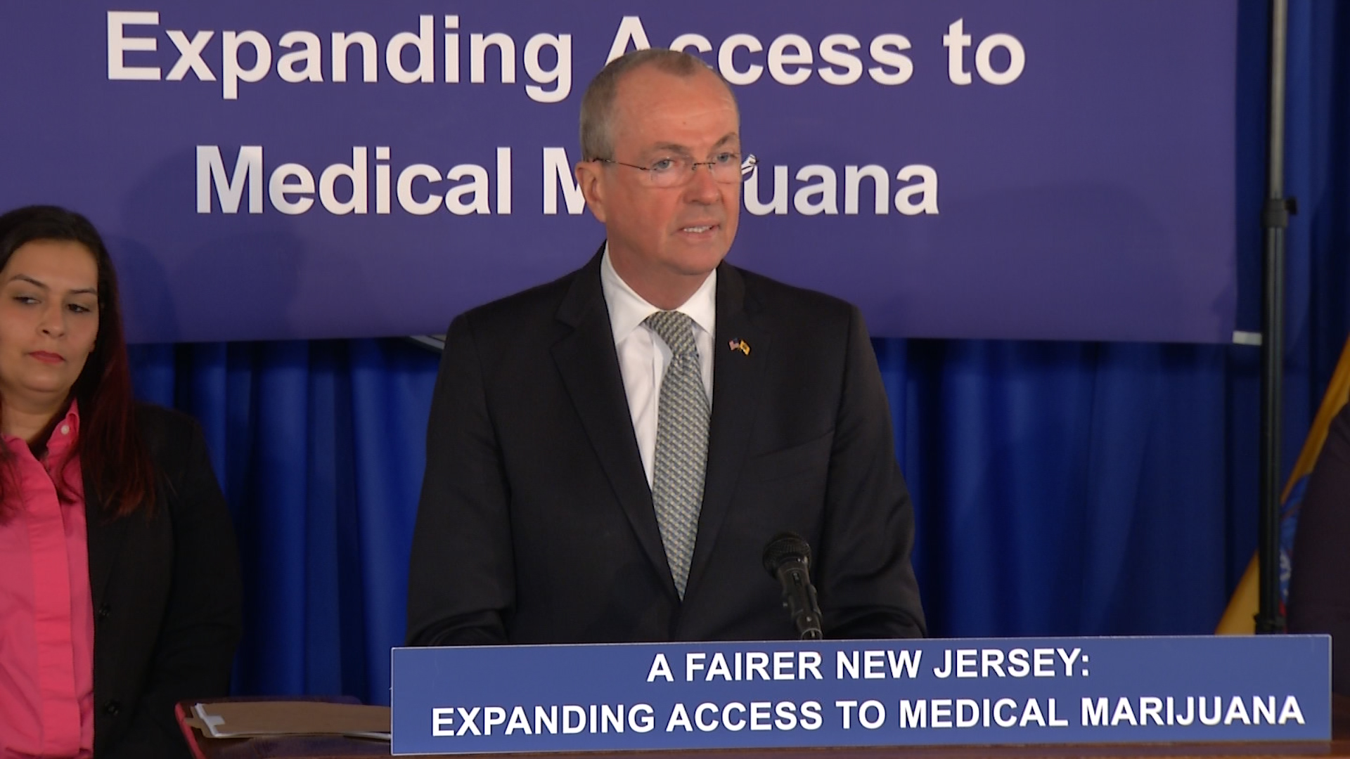 Murphy unveils plan for expanding medical marijuana program