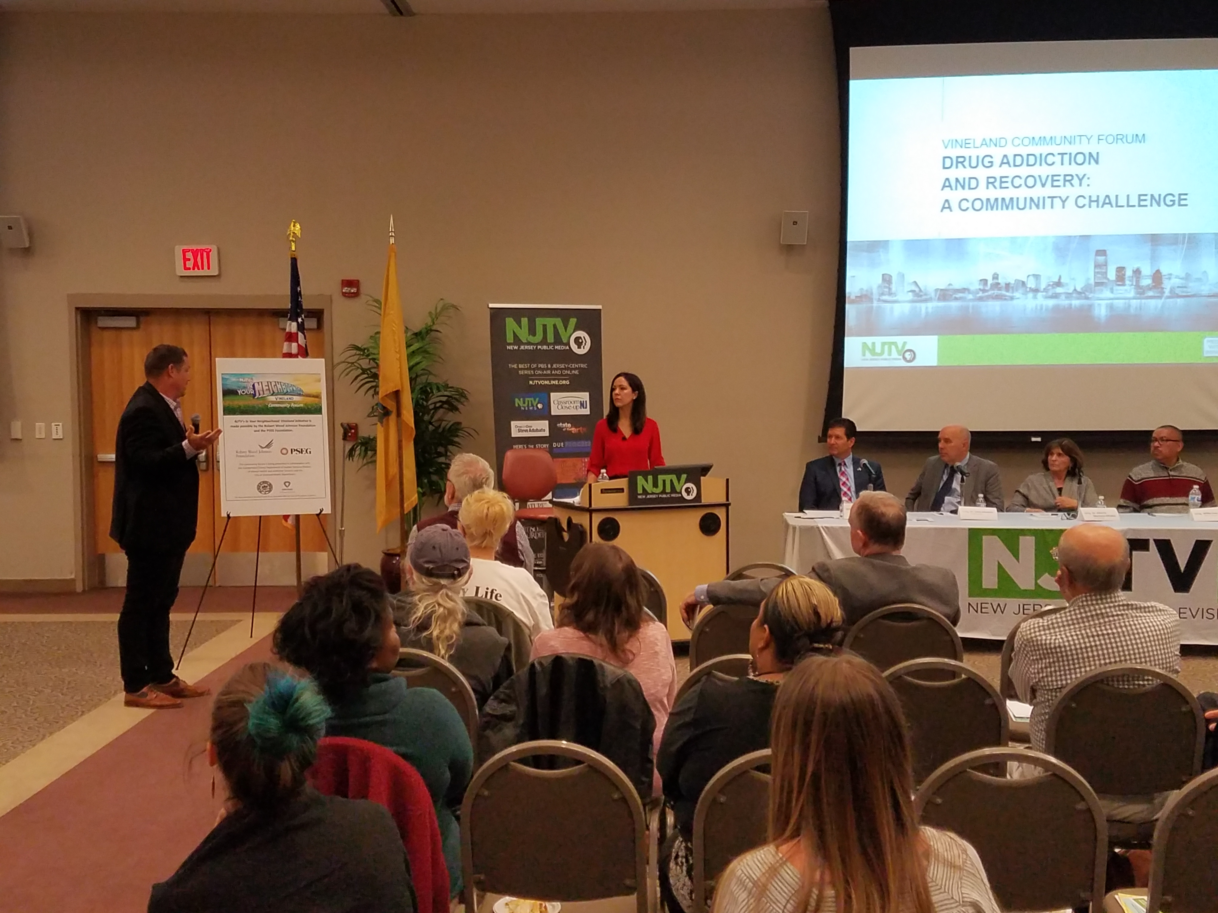 NJTV Hosts Community Forum Discussing The Challenges of Drug Addiction and Recovery For New Jersey Communities in Vineland on October 30th