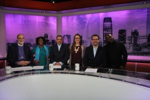 Bishop Mark Beckwith, Islah Ali, Imam W. Deen Shareef, Mariel Hufnagel, Rabbi Matthew Gewirtz and Mark Dorsey discuss addiction on the second episode of A Matter of Faith.