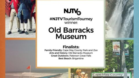 Old Barracks Museum Wins NJTV's Tourism Tournament