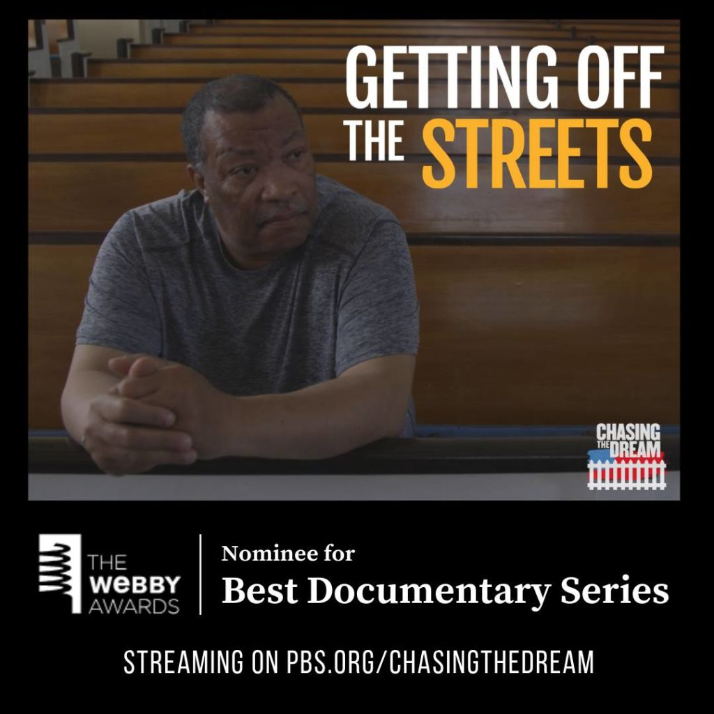 Produced by the Chasing the Dream team at WNET, Getting Off the Streets is a series set in Camden, NJ.