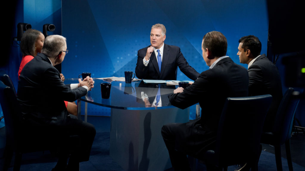 The Future of the Democratic Party, discussed on the debut episode of Think Tank with Steve Adubato on May 11, 2019.